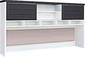 Dorel Home Products Ameriwood Home Pursuit Hutch, White/Gray