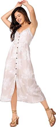 Lez a Lez Vestido Lez a Lez Midi Condesa Bege/Branco