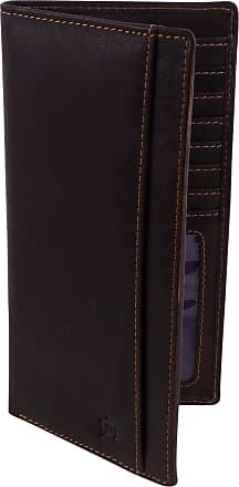 Prime Hide Outback Mens Luxury RFID SAFE Leather Zip Around Wallet 2004