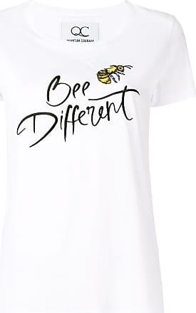 Quantum Courage Camiseta Bee different - Branco
