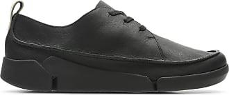 Clarks Womens Black Leather Clarks Tri Clara Size 6.5