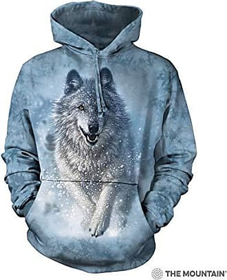 The Mountain Snow Plow Hsw Adult Hoodie, Blue, 2XL