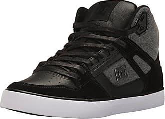 d549f9c833ae2a DC Mens Spartan High WC SE Skateboarding Shoe Black