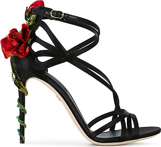 Dolce & Gabbana Sandália Jewel Keira - Preto