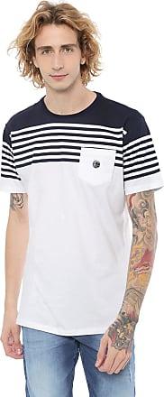 O'Neill Camiseta ONeill Scroundel Branca/Azul-marinho