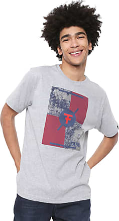 Fatal Surf Camiseta Fatal Estampada Cinza