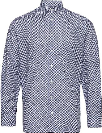 Beige Medallions Print shirt, Mønster fra Eton Shirts | Kjøp