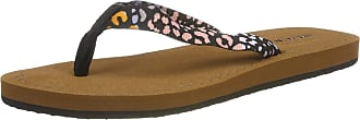 O'Neill Womens Fw Woven Strap Sandals Shoes & Bags, (Black AOP W/Pink 9940), 7 UK