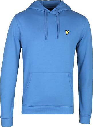 Lyle & Scott Lyle and Scott Mens LS Pullover Hoodie - Cotton - XXL Lapis Blue