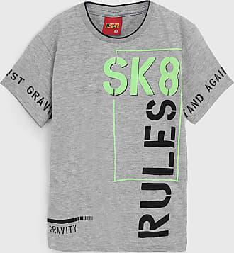 KYLY Camiseta Kyly Infantil Lettering Cinza