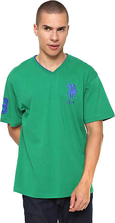 U.S.Polo Association Camiseta U.S. Polo Logo Verde