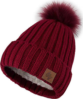 6e58581c31e0fa 4sold Mens Womens Beanie Warm Winter Cable Knitted Bobble Hat Plain Ski Pom  Wooly Cap Full