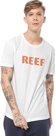 Reef Camiseta Reef Name Logo Branca