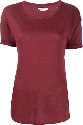 Isabel Marant Camiseta decote careca Koldi - Vermelho
