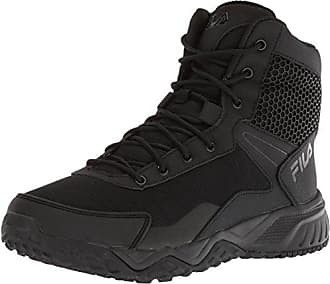 Fila Mens Chastizer Military and Tactical Boot Food Service Shoe, Black, 11.5 D US