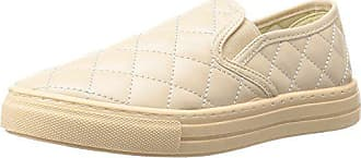 Qupid Womens REBA-17C Sneaker, Nude, 6 M US