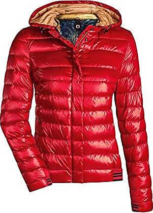 b84b898b82bb3f Milestone Damen Daunenjacke Steppjacke Übergangsjacke Herbst Winter Jacke  mit Kapuze Rosa Pink Rot Orange Gold Navy