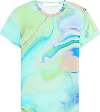 Fenty Puma by Rihanna Camiseta estampada com mangas curtas - Verde