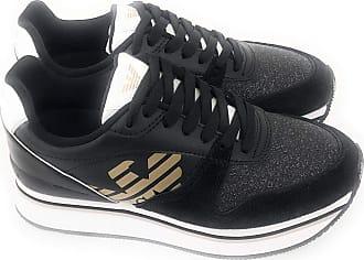 301cab74ce4a Emporio Armani Emporio Armani DI Giorgio Armani Sneakers Women Black 40