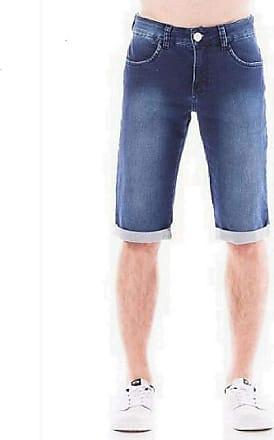 Eventual Bermuda Jeans Masculina Eventual Middle Plus