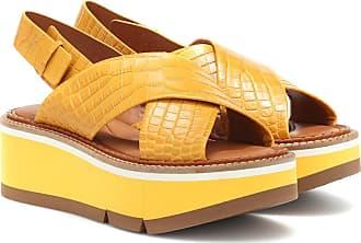 Robert Clergerie Anae platform leather sandals