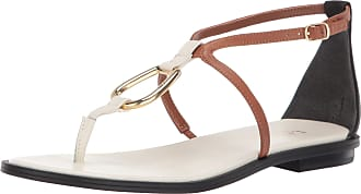 Lauren Ralph Lauren Lauren by Ralph Lauren Womens Nanine Sandal, Vanilla/Deep Saddle Tan/Black, 7 UK