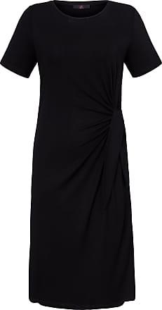Emilia Lay Jersey dress short sleeves Emilia Lay black