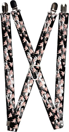 One Size Buckle-Down Mens Suspender-Weed Multicolor