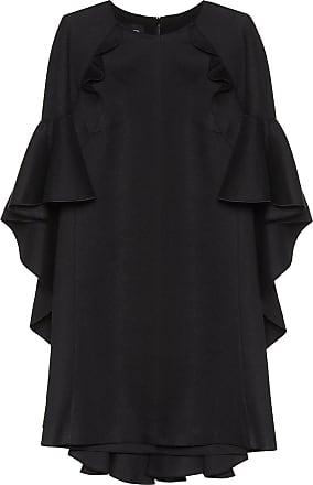 Giambattista Valli Cotton-blend minidress with cape