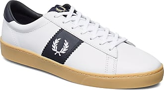 Fred Perry Spencer Leather Låga Sneakers Vit Fred Perry