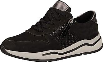 Jana Womens 8-8-23714-25 Sneaker, Black, 8 UK