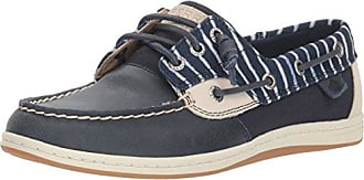 Sperry Top-Sider Sperry Womens Songfish Boat Shoe, Navy/Blue Navy, 6 M US