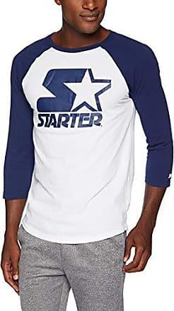 Exclusive Starter Mens Short Sleeve Americana Logo T-Shirt