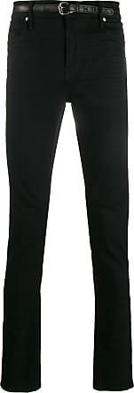 Rta Calça jeans skinny com cinto - Preto