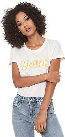 Vero Moda Camiseta Vero Moda Estampada Off-white