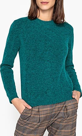 56a40a75b7f Sessun Pull col rond maille fantaisie SEWEN - SESSUN - Bleu Turquoise