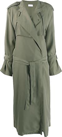 John Elliott + Co Trench coat com cinto - Verde