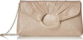 Jessica McClintock Meadow Envelope Clutch, rose gold