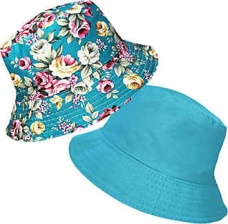 TOSKATOK Ladies Reversible Floral Cotton Bush Bucket Sun HAT