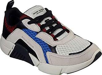 Mark Nason SKECHERS Los Angeles Mens Trinity Sneaker, Taupe/Multi, 13 M US