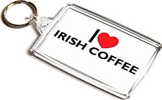 ILoveGifts KEYRING - I Love Irish Coffee - Novelty Food & Drink Gift