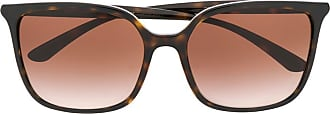 Dolce & Gabbana Eyewear Óculos de sol quadrado - Marrom