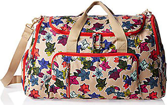 Vera Bradley Lighten Up Ultimate Gym Bag Top Handle Bag, Falling Flowers Neutral, One Size