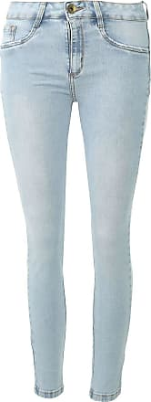 Lança Perfume Calça Jeans Lança Perfume Skinny Diana Azul