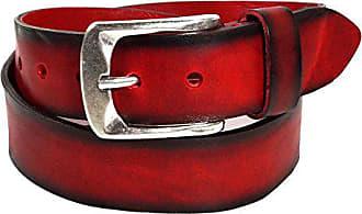 48ff080839249a Bernd Götz Damengürtel Walkledergürtel geprägt Rot 402187-0055 Jeansgürtel  Leder Gürtel Ledergürtel 105 cm