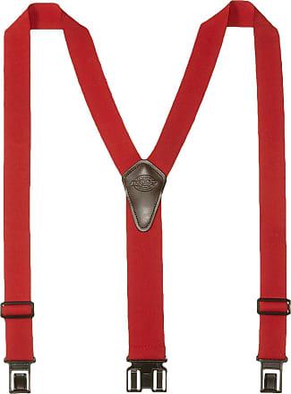 Dickies mens Perry Suspender Suspenders - red