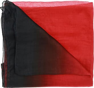 Ann Demeulemeester Sheer Scarf With Logo Womens Red