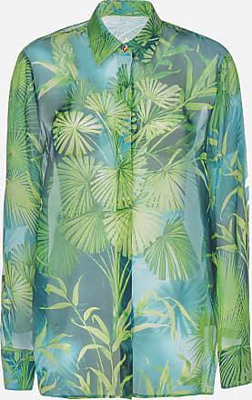 Versace Jungle print silk shirt - VERSACE - woman