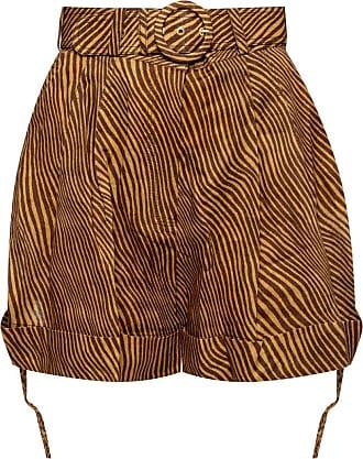 Zimmermann High-waisted Shorts Womens Brown