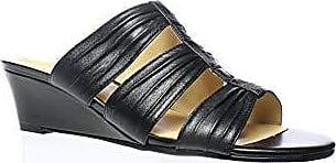 19717ca4ea54 Trotters Womens Mia Slide Sandal Black 8.5 N US